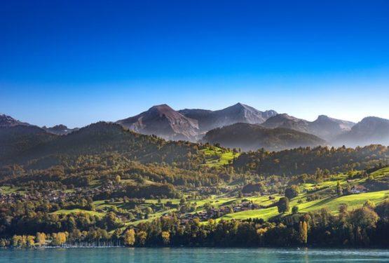 Hösten i Alperna är magisk